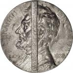 1909 Lincoln Centennial. Emancipation Proclamation Medal. Lead. 62.5 mm. By J.E. Roine. Similar to C