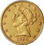 1890-CC Liberty Head Half Eagle. EF Details--Altered Surfaces (PCGS).