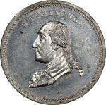 1864 Soldier's Fair medal by J.A. Bolen. Musante GW-679, Baker-365, Musante JAB-16. White Metal. MS-
