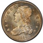 1834 Capped Bust Quarter. Browning-4. Rarity-1. Mint State-66 (PCGS).PCGS Population: 3, none