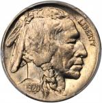 1920-D Buffalo Nickel. MS-65+ (PCGS).