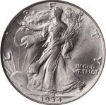 1934-D Walking Liberty Half Dollar. MS-65 (PCGS). CAC. OGH.