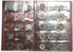 China and Japan/Japanese Puppet States, an album of 90 coins from various periods, mostly consisting