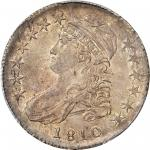 1810 Capped Bust Half Dollar. O-110. Rarity-2. MS-62 (PCGS). CAC.