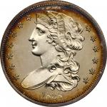 1838 Pattern Half Dollar. Judd-72, Pollock-75. Rarity-5. Silver. Reeded Edge. Proof-63 (PCGS). CAC.