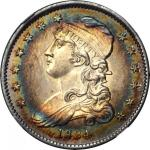 1834 Capped Bust Quarter. B-1, FS-901. Rarity-1. O/F in OF. MS-66 * (NGC).