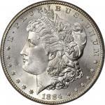 1884-CC Morgan Silver Dollar. MS-66 (PCGS). CAC. OGH.