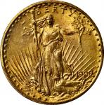 1909/8 Saint-Gaudens Double Eagle. FS-301. MS-63 (PCGS). CAC.