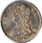 1834 Capped Bust Quarter. B-1. Late Die State. AU-55 (PCGS). CAC.