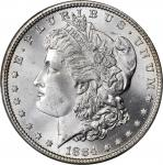 1884 Morgan Silver Dollar. MS-66+ (PCGS). CAC.