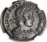 CONSTANTIUS II as Caesar, A.D. 324-337. AE Follis (1.55 gms), Siscia Mint, ca. A.D. 335-336.