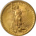 1911 Saint-Gaudens Double Eagle. MS-66 (PCGS).