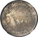 GUATEMALA. 8 Reales, 1846/2-NG AE/MA.