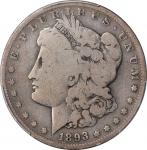 1893-S Morgan Silver Dollar. Good-6 (PCGS).