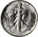 1945-S Walking Liberty Half Dollar. MS-65 (PCGS).