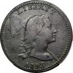 1793 Liberty Cap Cent. S-13. Rarity-4-. Fine Details--Environmental Damage (PCGS).