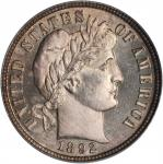 1892 Barber Dime. Proof-65 (PCGS). CAC.