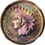 1880 Indian Cent. Proof-67 RB Cameo (NGC).