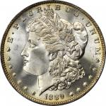 1889-O Morgan Silver Dollar. MS-66 (PCGS).