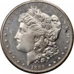 1889-CC Morgan Silver Dollar. MS-64 DPL (NGC).