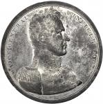 1814 Major General Winfield Scott Medal. White Metal. 65 mm. Julian MI-20. About Uncirculated.