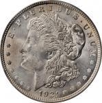 1921 Morgan Silver Dollar. Morgan. MS-64 (PCGS). CAC. OGH.