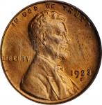 1923-S Lincoln Cent. MS-64 RD (PCGS).