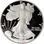 2006-W Silver Eagle. 20th Anniversary. Proof-70 Deep Cameo (PCGS). Secure Holder.
