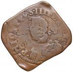Italian coins;NAPOLI Filippo IV (1621-1665) Grano 1637 - MIR 261/1 CU (g 9.50) - qBB/BB;50