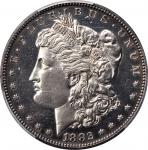 1882 Morgan Silver Dollar. Proof. Unc Details--Altered Surfaces (PCGS).
