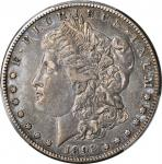 1893-S Morgan Silver Dollar. VF-35 (PCGS).