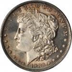 1882-O Morgan Silver Dollar. MS-66 (PCGS).