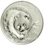 2003年熊猫纪念银币1盎司 完未流通