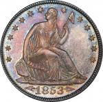 1853 Liberty Seated Half Dollar. Arrows and Rays. WB-101. MS-66 (PCGS).