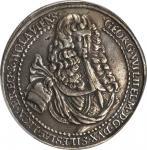 GERMANY. Silesia-Liegnitz-Brieg. 1 1/4 Taler, 1675. Georg Wilhelm (1672-75). PCGS VF-35 Secure Holde