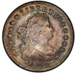 1805 Draped Bust Dime. John Reich-2. Rarity-2. Mint State-66 (PCGS).PCGS Population: 6, 3 finer (MS-