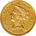1879-S Liberty Head Eagle. EF-45 (NGC).