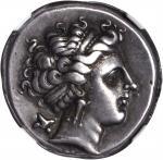ITALY. Campania. Neapolis. AR Didrachm (7.41 gms), ca. 325-241 B.C.