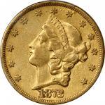1872-CC自由帽双鹰 PCGS XF 45