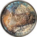 1879 Morgan Silver Dollar. MS-66+ (PCGS). CAC.