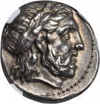 MACEDON. Kingdom of Macedon. Philip II, 359-336 B.C. AR Tetradrachm (14.47 gms), Amphipolis Mint, 35