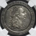 GREAT BRITAIN George III ジョージ3世(1760~1820) Pattern Penny in Sliver 1797  NGC-PF62 Proof -UNC