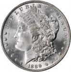 1889-O Morgan Silver Dollar. MS-65 (PCGS).