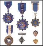 1910-1920年勋章共7件 近未流通