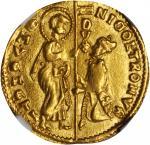 ITALY. Venice. Ducat, ND. Nicolo Trono (1471-74). NGC MS-62.