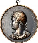 1820 George IV Accession Medal. Copper, Bronzed. Eimer-1123a, BHM-1010. Obverse as Jamieson Fig. 27.