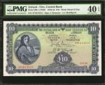 IRELAND. Central Bank. 10 Pounds, 1945-52. P-59b. PMG Extremely Fine 40 EPQ.