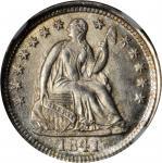 1841-O Liberty Seated Half Dime. V-4. MS-67+ (NGC).