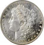 1899 Morgan Silver Dollar. MS-66+ PL (PCGS). CAC.