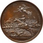 1781 (1845-1860) Lieutenant Colonel William Washington at Cowpens Medal. Paris Mint Restrike from Or
